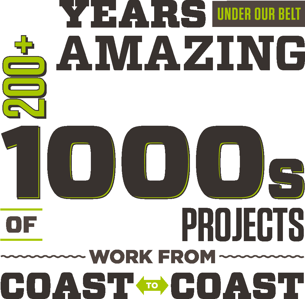 11+ Years Under Our Belt 200+ Amazing Clients 1000s of Awesome Projects Work Coast to Coast
